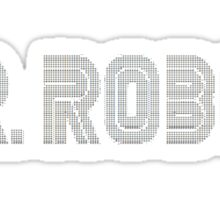 MR ROBOT typ collage Sticker