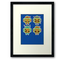 Teenage Mutant Ninja Droids Framed Print