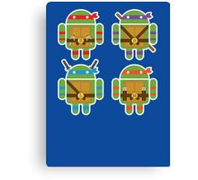 Teenage Mutant Ninja Droids Canvas Print