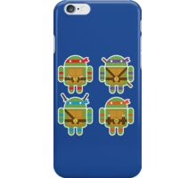 Teenage Mutant Ninja Droids iPhone Case/Skin