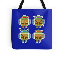 Teenage Mutant Ninja Droids Tote Bag