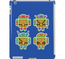 Teenage Mutant Ninja Droids iPad Case/Skin
