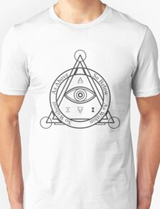 As Above, So Below, As Within, So WIthout [Light] Unisex T-Shirt
