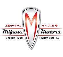Mifune Motors Photographic Print