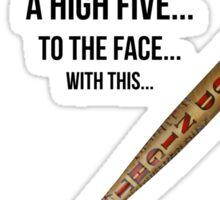 High Five Bat Sticker