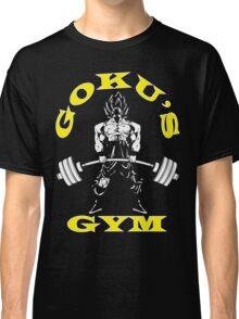 Goku's Gym (White and Yellow Logo) Classic T-Shirt