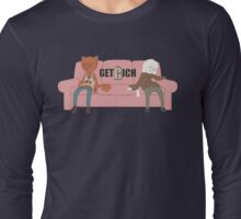 Get Rich - Couch Long Sleeve T-Shirt