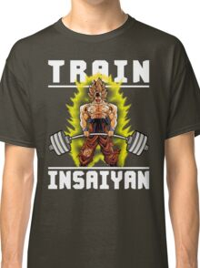 TRAIN INSAIYAN (Goku Deadlift) Classic T-Shirt