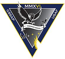 Geosynchronous Space Situational Awareness Program Logo Photographic Print