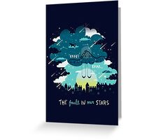 Stars and Constellations Greeting Card