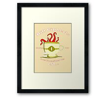 Eldritch Brew Framed Print