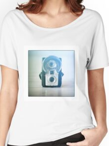 Brownie Camera Women's Relaxed Fit T-Shirt