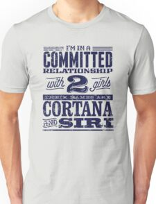 Cortana and Siri Unisex T-Shirt