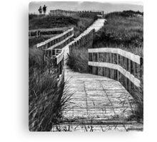 Inverness Boardwalk Canvas Print