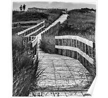 Inverness Boardwalk Poster