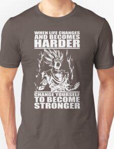 BECOME STRONGER (Teen Gohan) Unisex T-Shirt