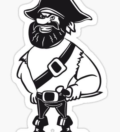 Pirat dreispitz  Sticker