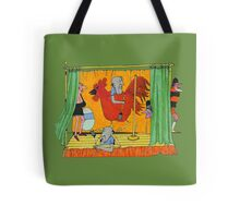 A Playlet on Chicken Ranching Tote Bag