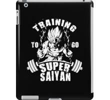 Training To Go Super Saiyan (Goku) iPad Case/Skin