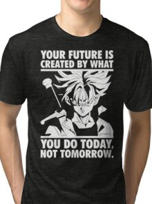 Create Your Future Today (Future Trunks) Tri-blend T-Shirt
