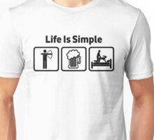 Archery Life Is Simple Rude Shirt Unisex T-Shirt
