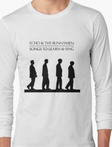Echo And The Bunnymen - Songs To Learn And Sing Long Sleeve T-Shirt