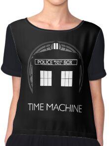 TIME MACHINE Chiffon Top