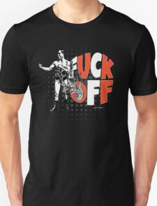 Fuck Off Offensive Vintage Boxing Fighter Unisex T-Shirt