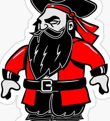 Pirat cool dreispitz witzig  Sticker
