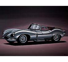 Jaguar XKSS Painting Photographic Print