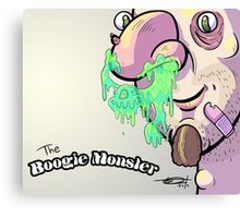 The Boogie Monster Canvas Print