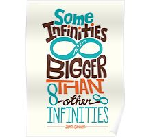 Some Infinities are Bigger Than Other Infinities Poster