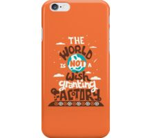 The World is Not a Wish Granting Factory iPhone Case/Skin