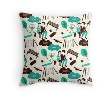 The Fault In Our Stars Pattern Throw Pillow