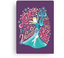 Frozen: Let it Go Canvas Print