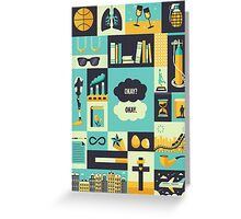 TFiOS Items Greeting Card