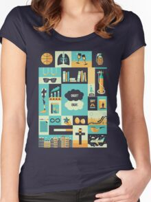 TFiOS Items Women's Fitted Scoop T-Shirt