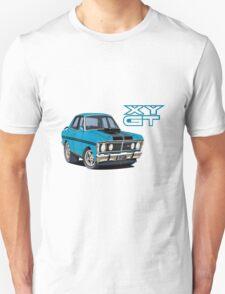 Ford Falcon XY GT HO Car toon, Bluey T-Shirt
