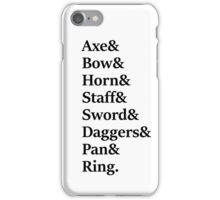 Lord of the Rings - Fellowship iPhone Case/Skin