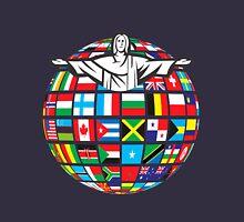 Christ Rio  de Janeiro 2016 Rio  World Flags  Unisex T-Shirt