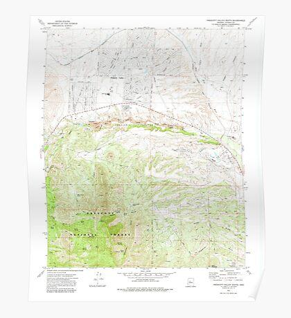 USGS TOPO Map Arizona AZ Prescott Valley South 312990 1973 24000 Poster