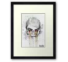 Beautiful Death Framed Print