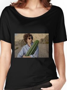 michael cera and cactus  Women's Relaxed Fit T-Shirt