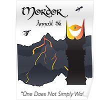 Mordor 5k Poster