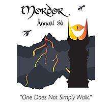 Mordor 5k Photographic Print
