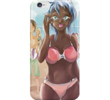 August at the Beach iPhone Case/Skin