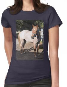Ronny Pony Womens Fitted T-Shirt