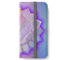 Abstract,star,bright,vivid,beautiful,pretty,contemporary art iPhone Wallet/Case/Skin