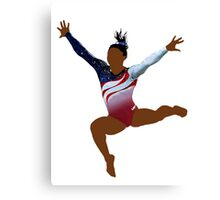Just Biles Canvas Print