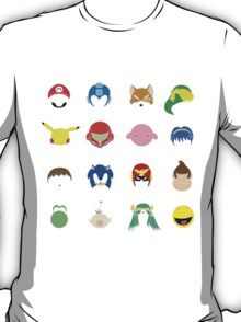 Simple Smash Bros! T-Shirt